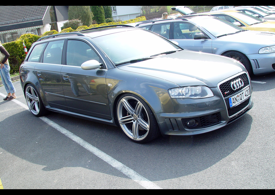 Audi Rs4 Wheels. RS6 Wheels on a B7 RS4 Avant